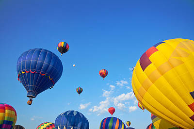Photograph - Hot Air Balloons 7 by Nicolas Raymond