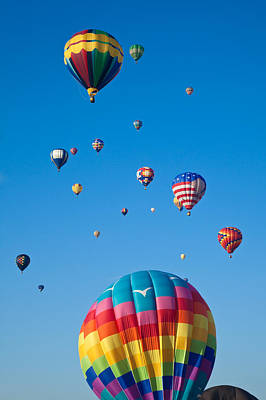 Photograph - Hot Air Balloons 8 by Nicolas Raymond