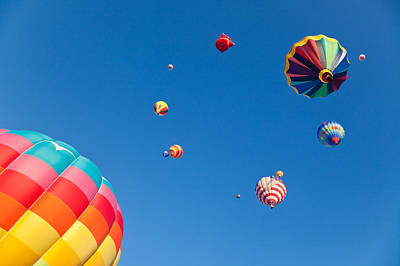 Photograph - Hot Air Balloons 9 by Nicolas Raymond
