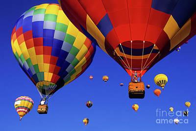 Photograph - Hot Air Balloons Albuquerque by Bob Christopher