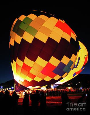 Photograph - Hot Air Balloons Albuquerque New Mexico 1 by Bob Christopher