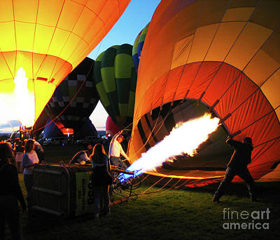 Photograph - Hot Air Balloons Albuquerque New Mexico 2 by Bob Christopher