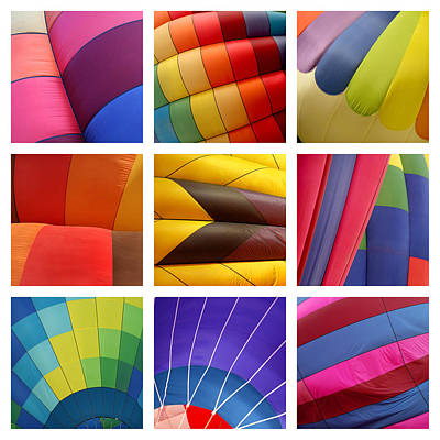 Hot Air Balloons Print by Art Block Collections