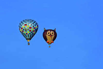 Photograph - Hot Air Balloons by Bill Barber