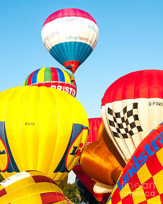 Photograph - Hot Air Balloons by Colin Rayner