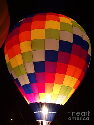 Photograph - Hot Air Balloons Colors by Justin Moore
