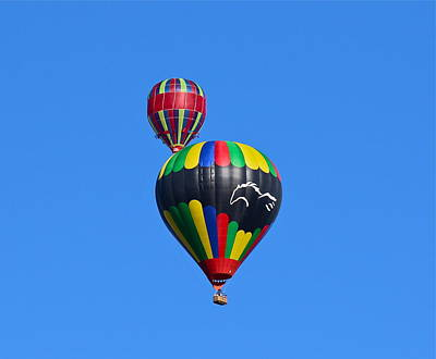 Photograph - Hot Air Balloons by Denise Mazzocco