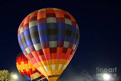 Photograph - Hot Air Baloons by Afrodita Ellerman
