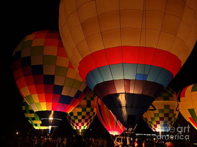 Photograph - Hot Air Burns by Justin Moore