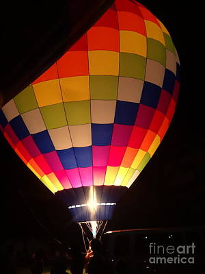 Photograph - Hot Air Colors by Justin Moore