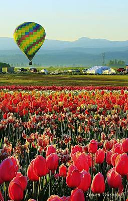 Photograph - Hot Air Rising by Steve Warnstaff