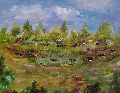 Painting - Hot August Afternoon by Judith Rhue