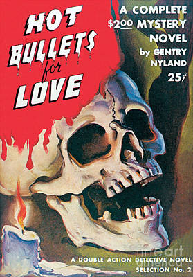 Painting - Hot Bullets For Love by Peter Driben