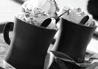 Snack Bar Digital Art - Hot Chocolat by Adriana Zoon