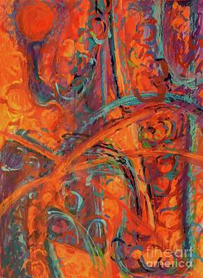 Painting - Hot Climate by Lynne Schulte