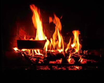 Photograph - Hot Coals by Steve Godleski
