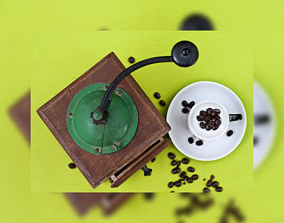 Photograph - Hot Coffee Mill Series 3 by Pedro Cardona