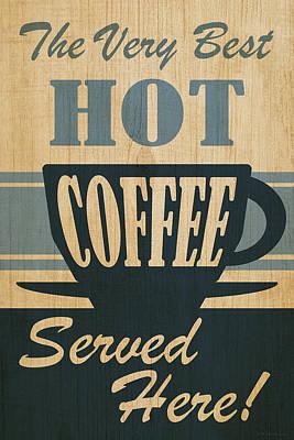 Digital Art - Hot Coffee by WB Johnston
