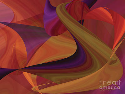 Digital Art - Hot Curvelicious by Jacqueline Shuler
