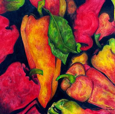 Painting - Hot by Isaac Alcantar