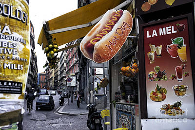 Photograph - Hot Dog In Naples by John Rizzuto