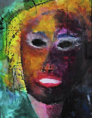 Portrate Painting - Hot Flash by Steve Mullins