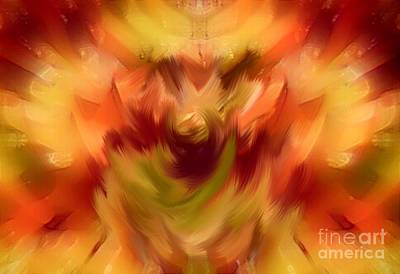 Digital Art - Hot Flashes  by Gayle Price Thomas
