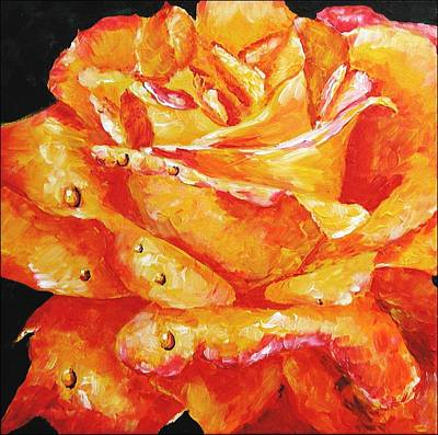 Painting - Hot Flashes by Jai Johnson