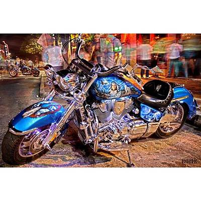 Bike Photograph - Hot Harley During Rot by Andrew Nourse