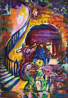 Hot Jammin Jazz Original by Saundra Bolen Samuel