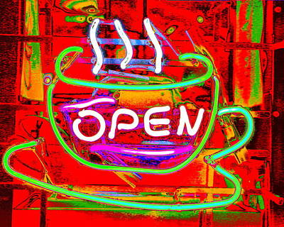 Photograph - Hot Java by Larry Beat