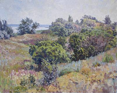 Impressionism Painting - Hot June by Andrey Soldatenko