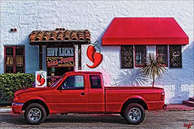 Tex-mex Photograph - Hot Licks by Chris Lord
