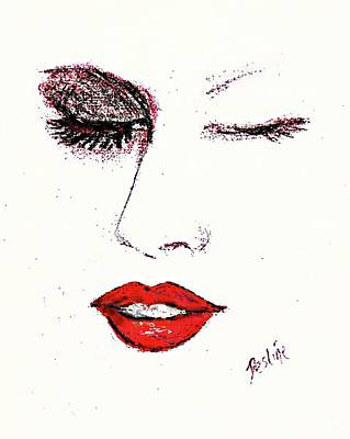 Pastel - Hot Lips by Desline Vitto