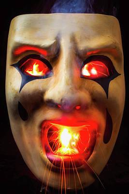 Hot Mask Art Print by Garry Gay