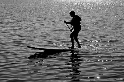 Photograph - Hot Moves On A Sup by John Meader