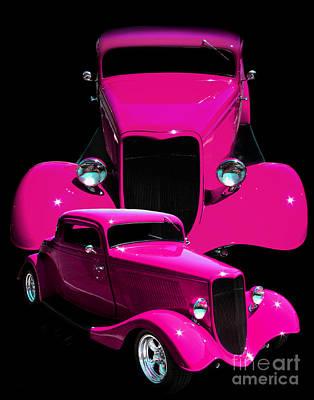 Hot Pink 33  Art Print by Peter Piatt