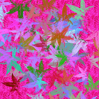 Royalty-Free and Rights-Managed Images - Hot Pink Autumn Celebration by Antique Images