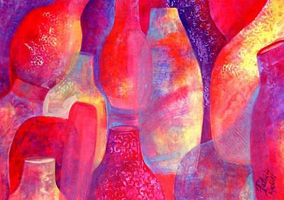 Hot Pots Art Print