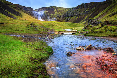 Photograph - Hot River by Alexey Stiop
