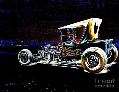 Photograph - Hot Rod  by Annie Zeno
