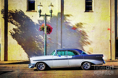 Photograph - Hot Rod Bel-air by Craig J Satterlee