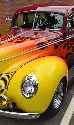 Photograph - Hot Rod by Charles HALL