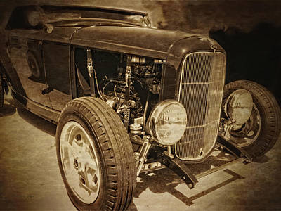 Ford Photograph - Hot Rod Closeup by Dilectus Rex