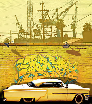 Photograph - Hot Rod Graffitti by Larry Butterworth