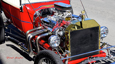 Photograph - Hot Rod Red by Floyd Snyder