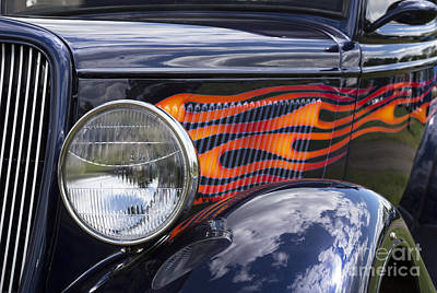 Photograph - Hot Rods 1 by Wendy Wilton