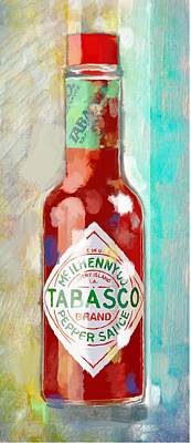Painting - Hot Sauce by Steven Lester