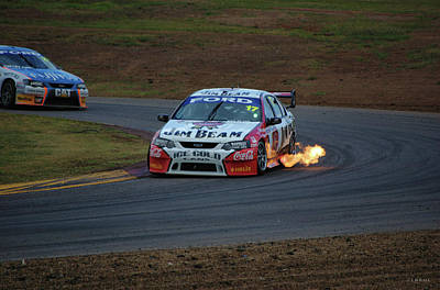 Australian Ford Photograph - Hot Shot by Cheryl Hall