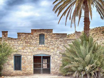 Photograph - Hot Springs House Big Bend by Rospotte Photography